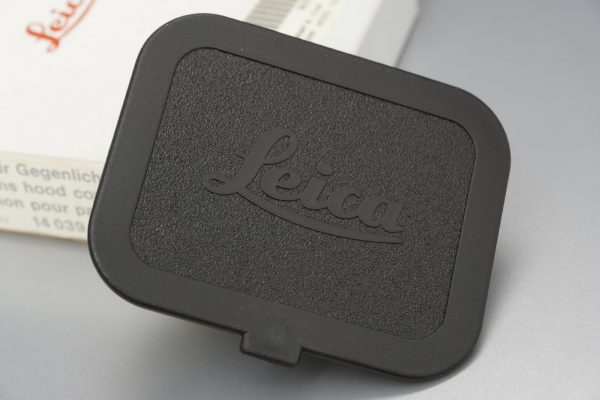 Leica 14039 35mm hood cover for M lens, Boxed