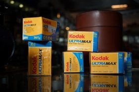 Kodak Ultramax 400, 135 film, 36 exposures. Expired 2009