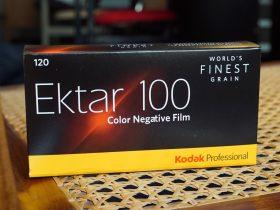 Kodak Ektar 100 / 120 / 5-pack film