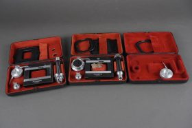 3x Rollei Rolleikin sets in metal cases, not complete