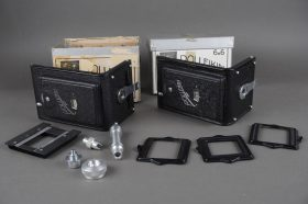 Rollei Rolleikin 6×6 sets, in two boxes, not complete