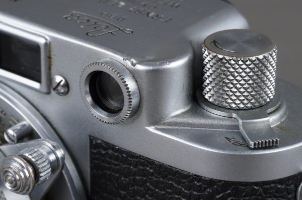 Leica IIf camera body with 5cm 1:3.5 Elmar lens