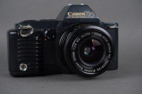Canon T70 camera body + Vivitar 2.8/28 FD lens – issue