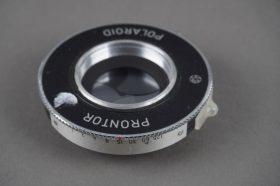 Prontor Polaroid shutter