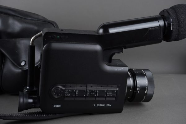 Braun Nizo Integral 5 Super 8 camera with Schneider Macro Variogon 8-40mm 1:1.2