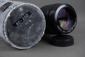 Nikon Zoom-Nikkor 80-200mm 1:4.5 AI in case