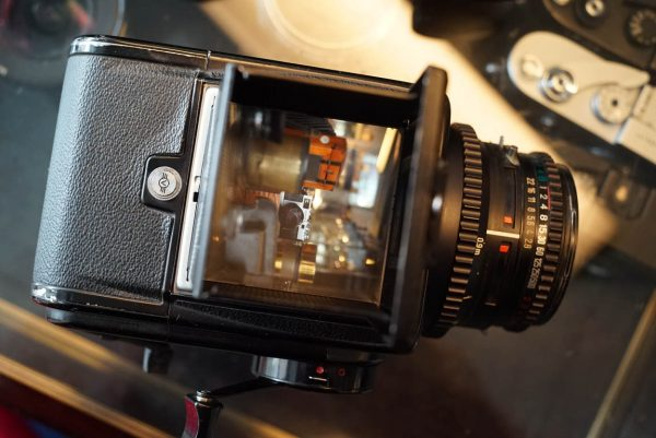 Hasselblad 500C/M kit + Planar 2.8 / 80mm, A12 and Acute Matte screen