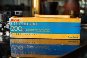 5-pack Kodak Ektachrome 200x PRD 135 / 36 film, Expired 1996