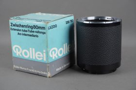 Rollei 80mm extension tube for SL66, boxed