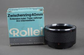 Rollei 40mm extension tube for SL66, boxed